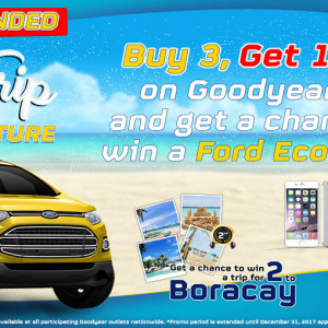 Goodyear Philippines Road Trip Promotion
