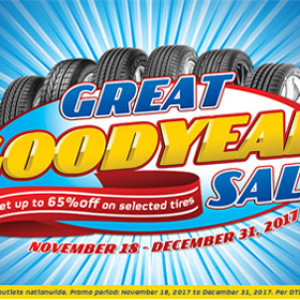 Philippines Great Goodyear Sale